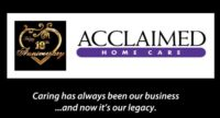 Acclaimed Home Care Logo
